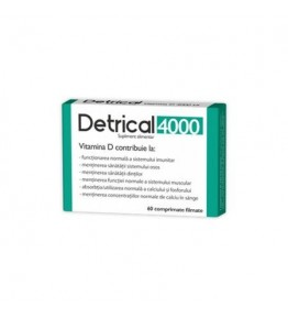 DETRICAL D3 4000IU 60CPR