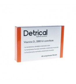DETRICAL D3 2000IU 60CPR