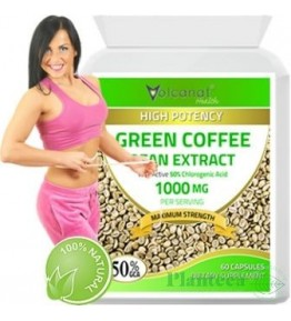 GREEN COFFEE 1000MG 60CPS