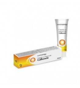 SANTADERM CR GALBENELE 50ML